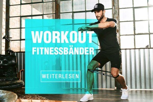 Fitnessband Übungen – 20 Minuten Power Workout mit Fitnessbändern für Zuhause