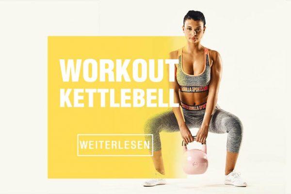Mit Kettlebell Übungen in Topform kommen