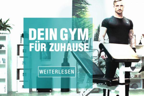 Der Traum vom eigenen Home Gym: So wird er Realität!