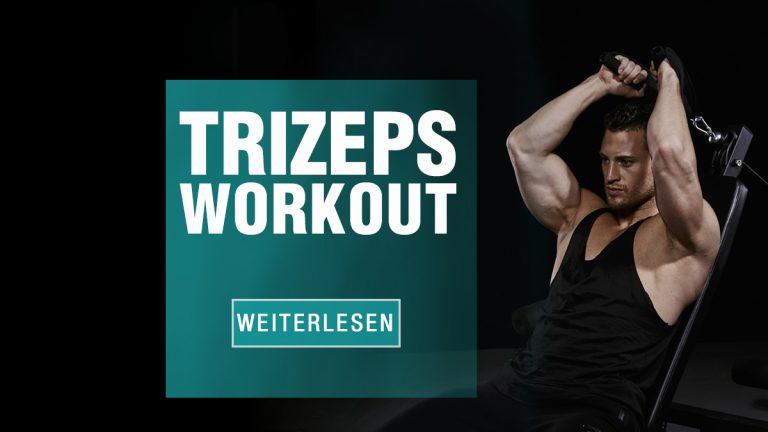Effektives Trizeps Workout