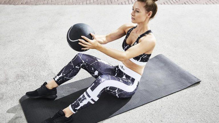 Medizinball Übungen
