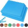 Schutzmattenset 6 Matten + 12 Endstücke Blau