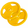 Hantelscheiben Gummi-Gripper Olympia 2x15KG - Gorilla Sports'
