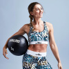 Kunstleder Medizinball 3 KG - Gorilla Sports