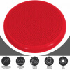 Ballsitzkissen mit Noppen inkl. Luftpumpe Rot
