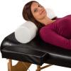 Nackenkissen für Massageliege Rund Weiss