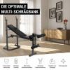 Hantelbank Multi Schrägbank mit Beincurler
