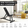 E-Series Hantelbank Multi Schrägbank