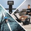 Wasserrudergerät mit Trainingscomputer Schwarz/Rot