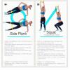 Fitnessband 500 x 50 x 0.4 mm