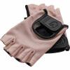Fitness Handschuhe Leder Rosa S