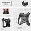 Gewichtsweste X Style 10 KG - Gorilla Sports