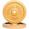 Hantelscheibenset gold 30 kg - 2 x 15 kg