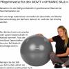 Gymnastikball 85 cm inkl. Pumpe