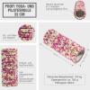 Profi Yoga- und Pilatesrolle Weiss /Pink