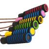 Springseil Leder in verschiedenen Farben Gelb/Orange - Gorilla Sports