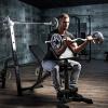 Sz Curlstange mit Sternverschluss 120 cm - Gorilla Sports