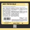 Whey Protein Isolat Vanille 750g