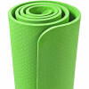 Yoga Fitnessmatte 10 mm Hellgrün