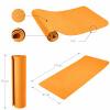 Yoga Fitnessmatte 10 mm Orange
