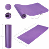 Yoga Fitnessmatte 10 mm Purple
