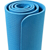 Yoga Fitnessmatte 4 mm blau