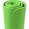 Yoga Fitnessmatte 4 mm Hellgrün