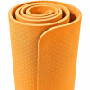 Yoga Fitnessmatte 4 mm Orange