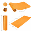Yoga Fitnessmatte 4 mm Orange