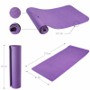 Yoga Fitnessmatte 4 mm Purple