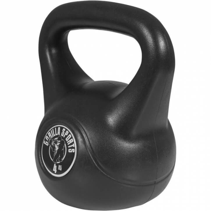 Kettlebell Cement 4 KG - Gorilla Sports