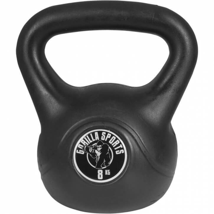 Kettlebell Cement 8 KG - Gorilla Sports