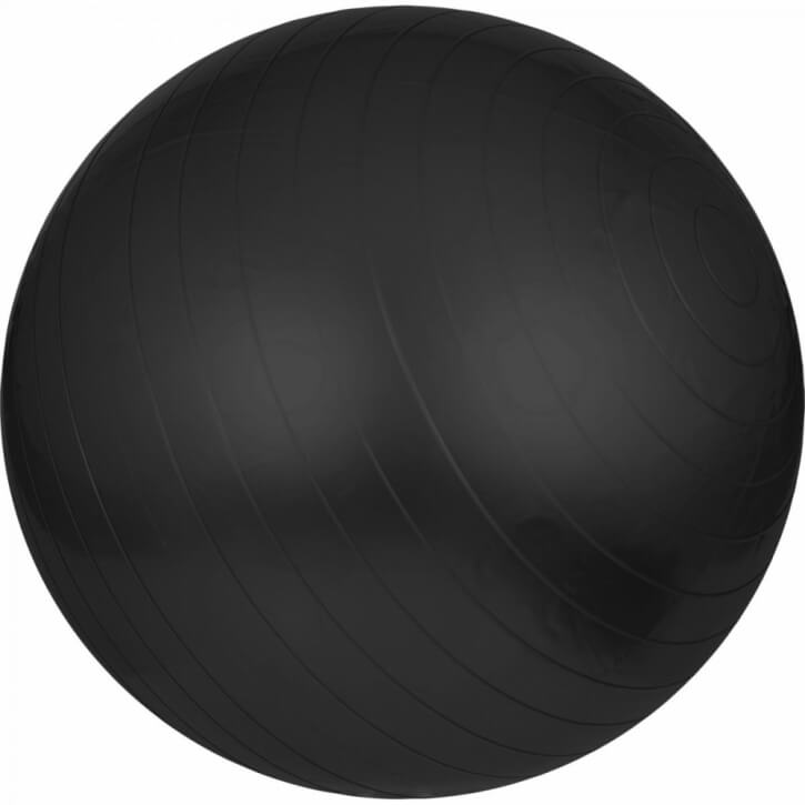 Gymnastikball Fitness Sitzball 65 cm Schwarz