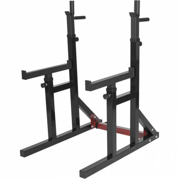 Multi Squat Rack verstellbare Ablage - Gorilla Sports