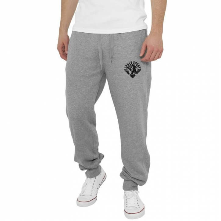 Straight Fit Gorilla Sweatpants grau S-XXL - Gorilla Sports