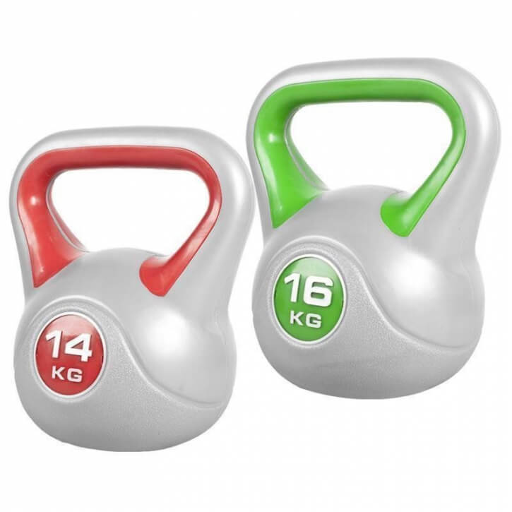 Stylish Kettlebellset 30 KG (14 KG /16 KG) - Gorilla Sports'