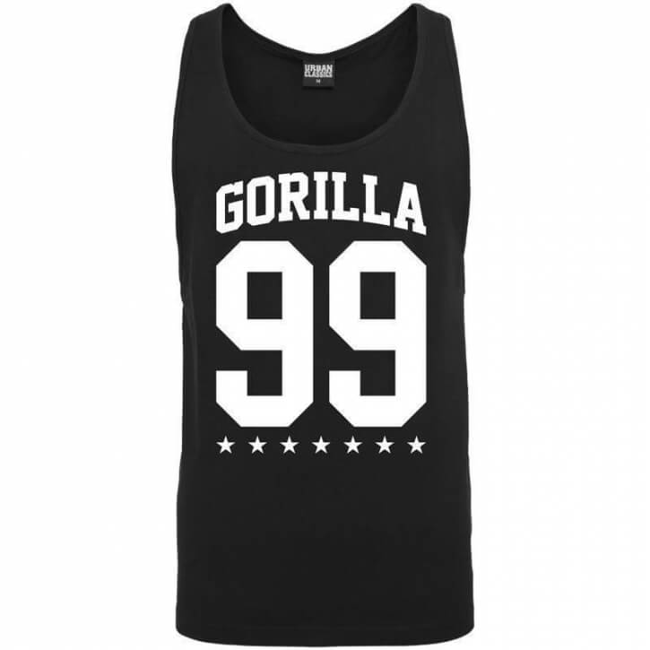 Gorilla 99 Loose Star Tank black - Gorilla Sports