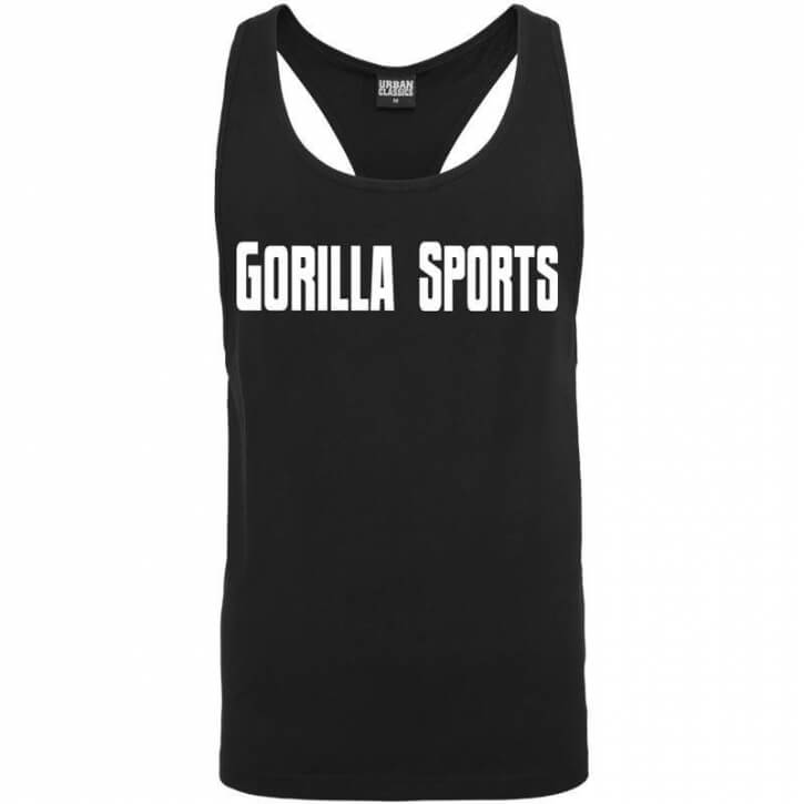 Gorilla Sports Loose Tank black - Gorilla Sports