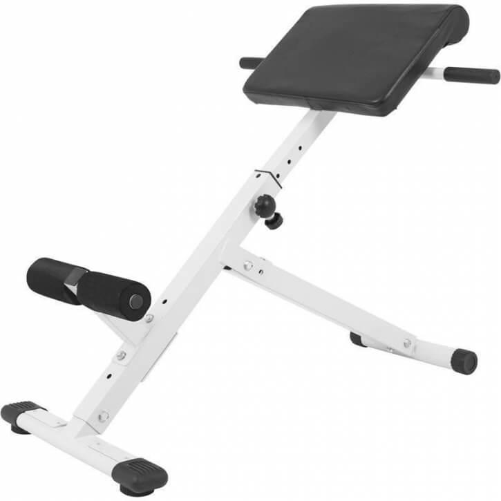 Bauch- / Rückentrainer klappbar weiss/schwarz