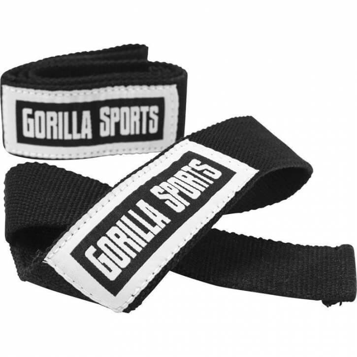 Gorilla Sports Zughilfen, Lifting Straps  - Gorilla Sports
