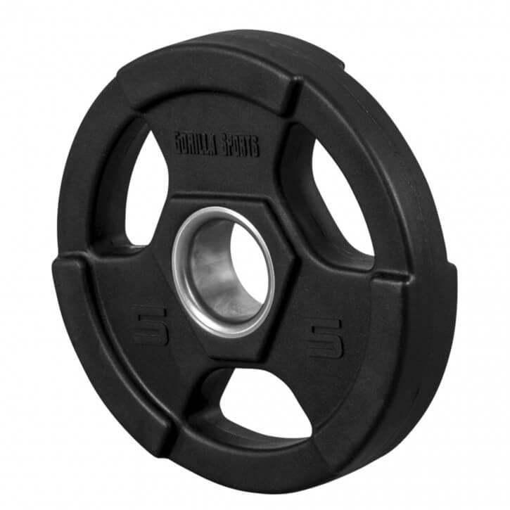 Hantelscheibe Profi Olympia 50/51mm PU 5 KG