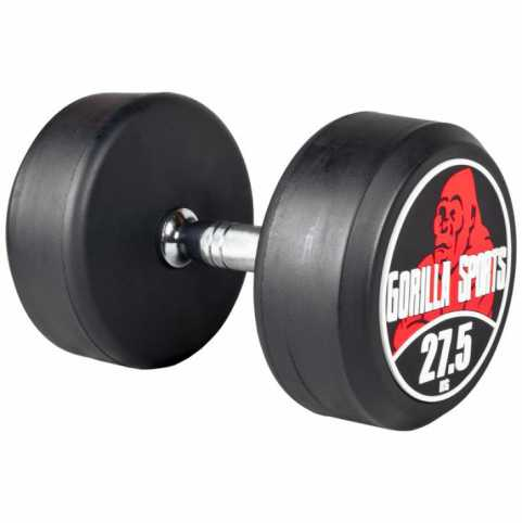 Gorilla Sports Rundhanteln 27,5 KG - Gorilla Sports