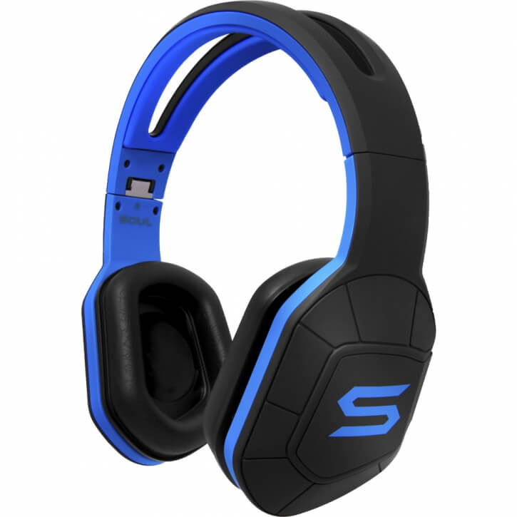 Soul Sportkopfhörer on/over ear Combat+ - Blue