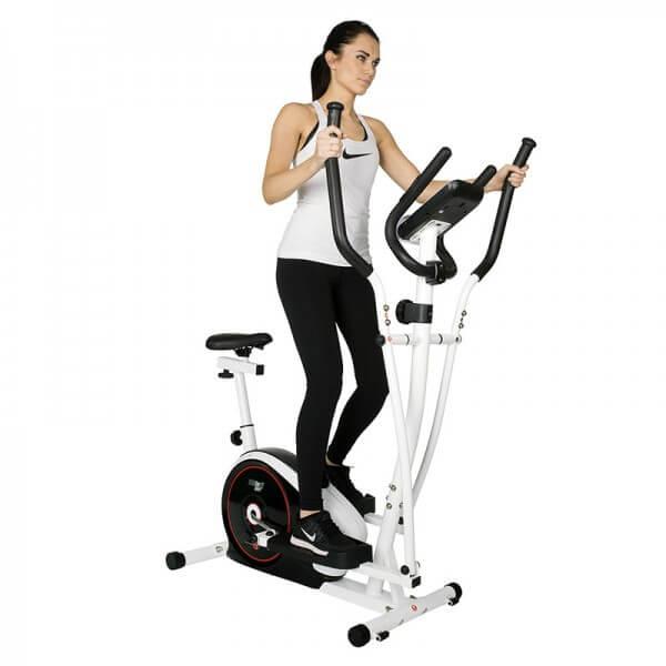 Crosstrainer Christopeit Crosstrainer CT 4 2in1 Heimtrainer Fitness Fitnessgerät Sport Fitness & Jogging