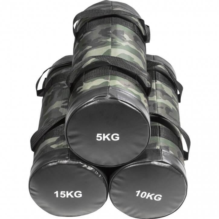 Fitness Sandbag Camouflage 5-15 KG