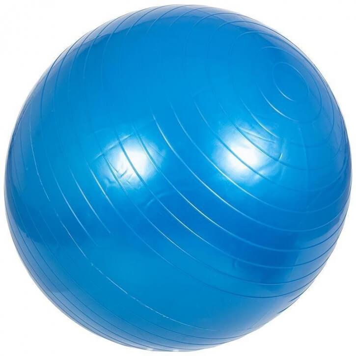 Gymnastikball Fitness Sitzball 65 CM BLAU - Gorilla Sports