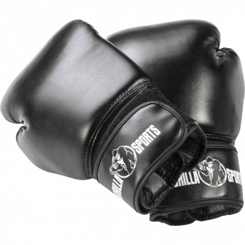 Profi Boxhandschuhe schwarz 10 OZ - 16 OZ