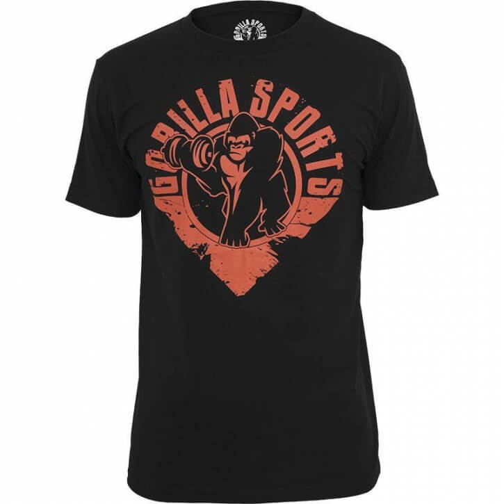 Gorilla T-Shirt L red