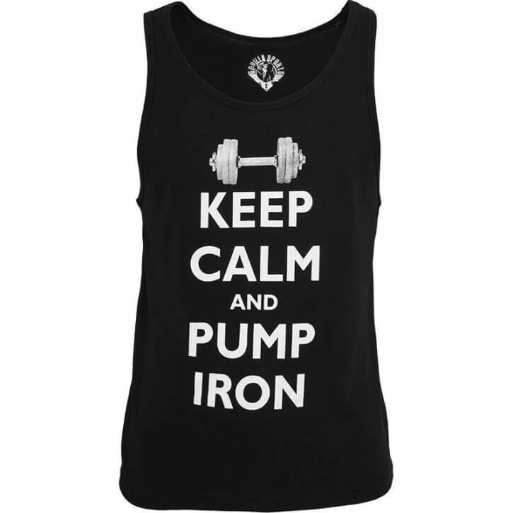 Gorilla Tanktop Keep Calm M