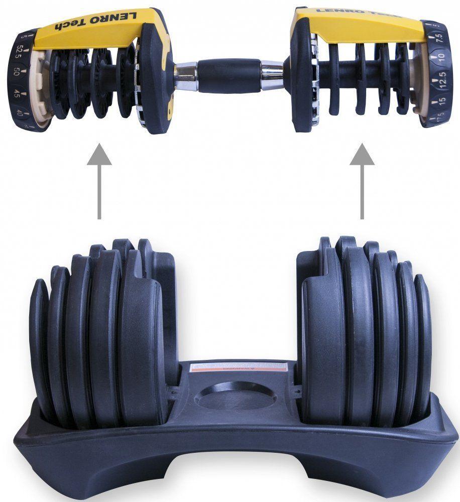 kurzhantel set verstellbar 24 kg lenro tech kaufen bei gorilla sports. Black Bedroom Furniture Sets. Home Design Ideas
